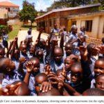 Children at Grace Care Shool