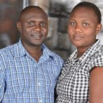Pr Emanuel Kamuli,  the Director and wife.