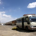 mobile drop-in centre (bus)