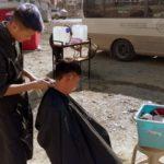 oper-air barber shop