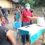 Last weeks food relief in the Chittagong Hill Tract area
